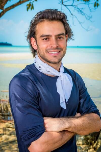 Jérémy, candidat de Koh-Lanta : l'île au trésor