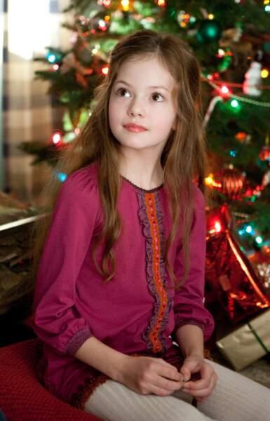 Mackenzie Foy se fait connaître à l'âge de 11 ans grâce à Twilight chapitre V : Révélation