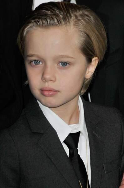 John, de la tribu d'Angelina Jolie, né le 27 mai 2006