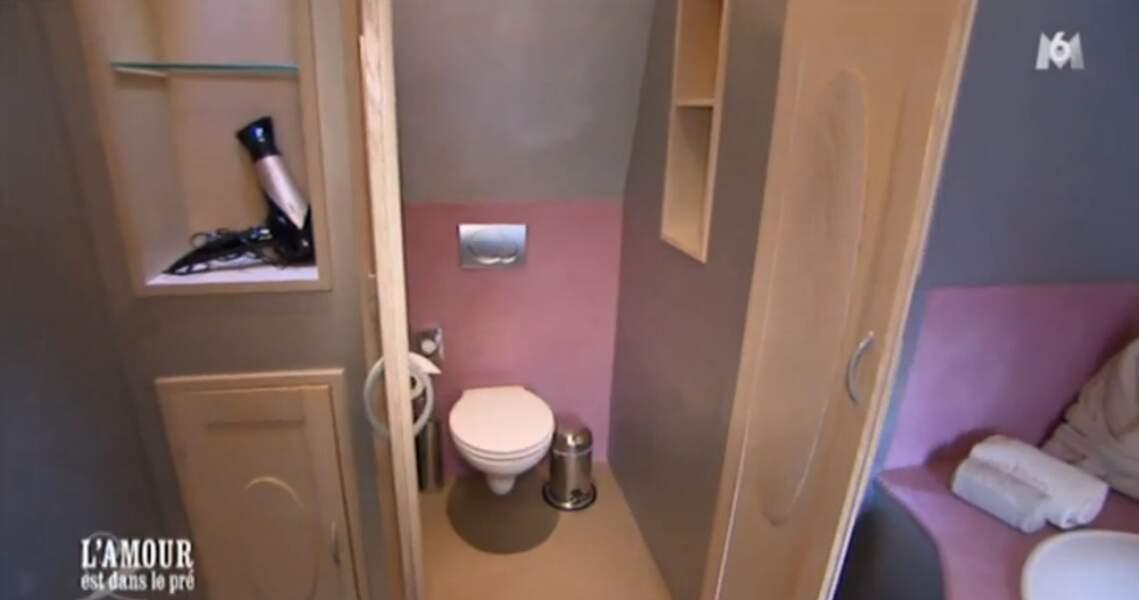 Et oui, Bruno a trouvé les toilettes !