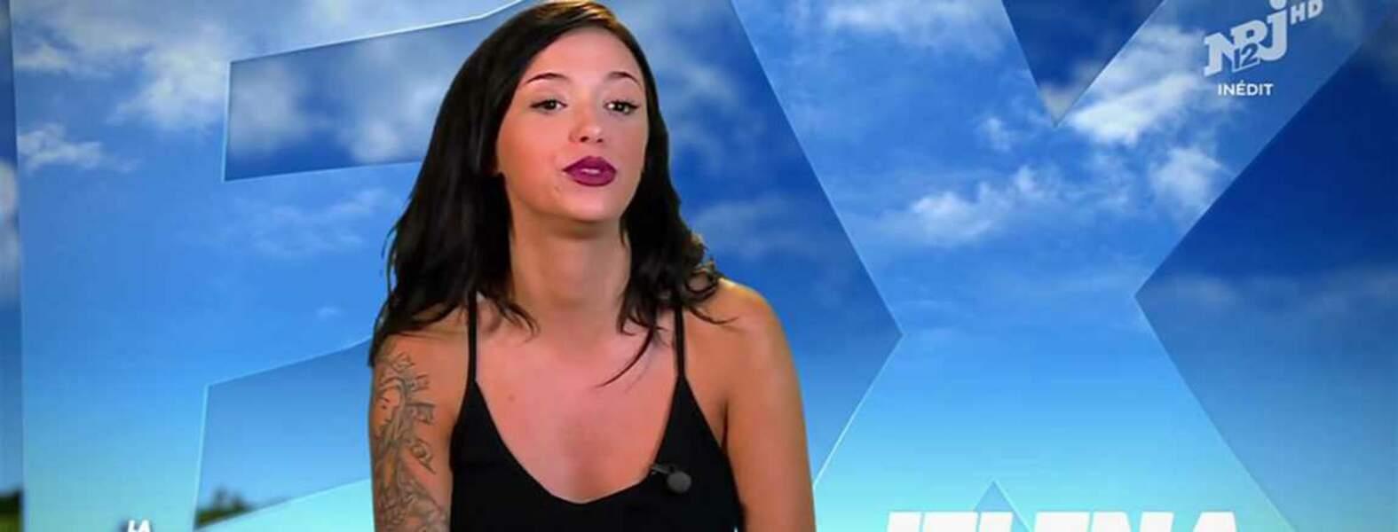 Jelena a fait ses débuts télévisuels sur NRJ 12