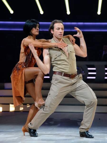 Philippe Candeloro fidèle à lui-même, showman, à la première de la tournée Danse avec les stars à Bercy