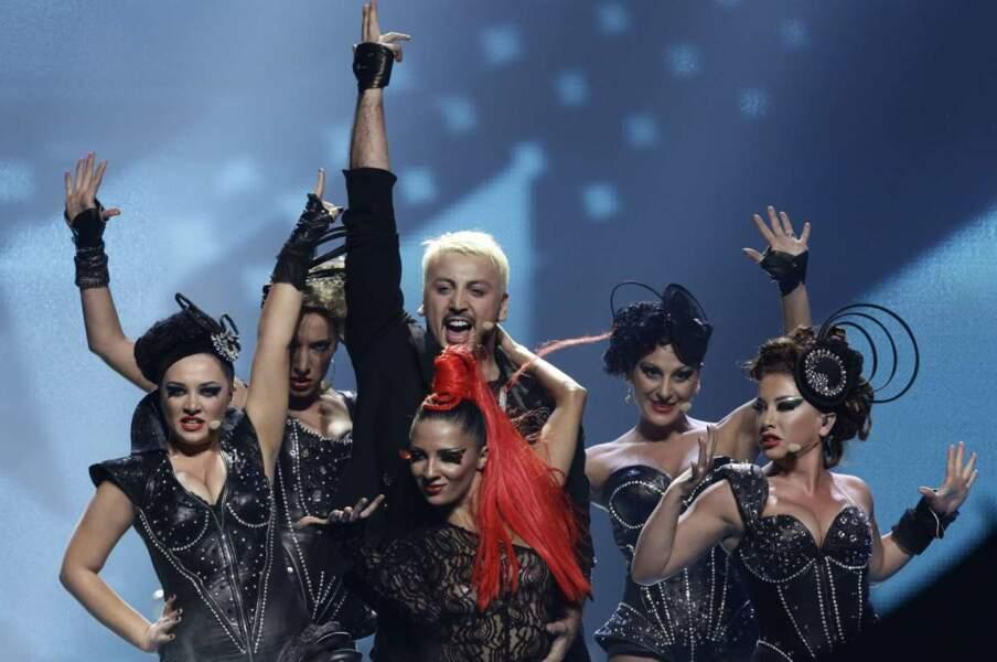 Demi-finale : les Géorgiens avaient misé sur la rock'n'roll attitude ! Oh yeah !
