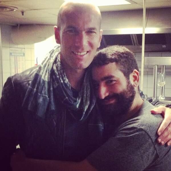 ... en passant par Zinédine Zidane...