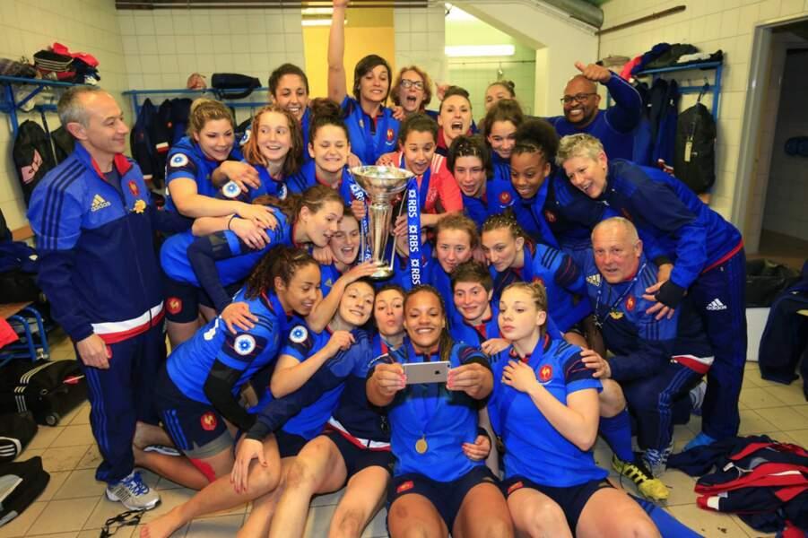 Heureusement qu'on pouvait compter sur le XV féminin pour remporter le trophée !