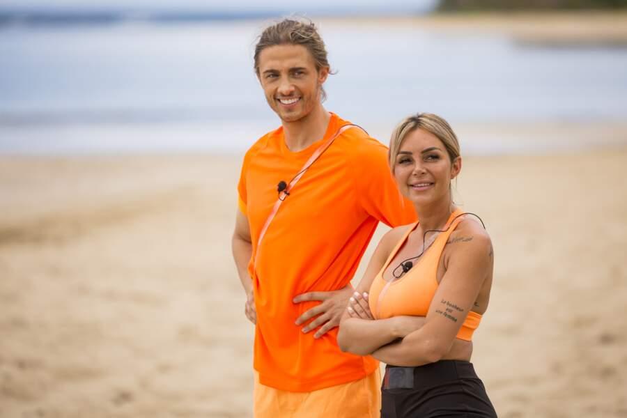Fidji Ruiz et Dylan Thiry, le orange