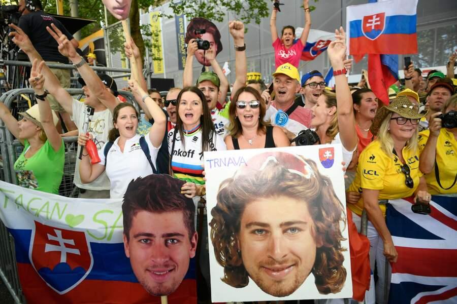 Le Slovaque a d'ailleurs un fan club très présent
