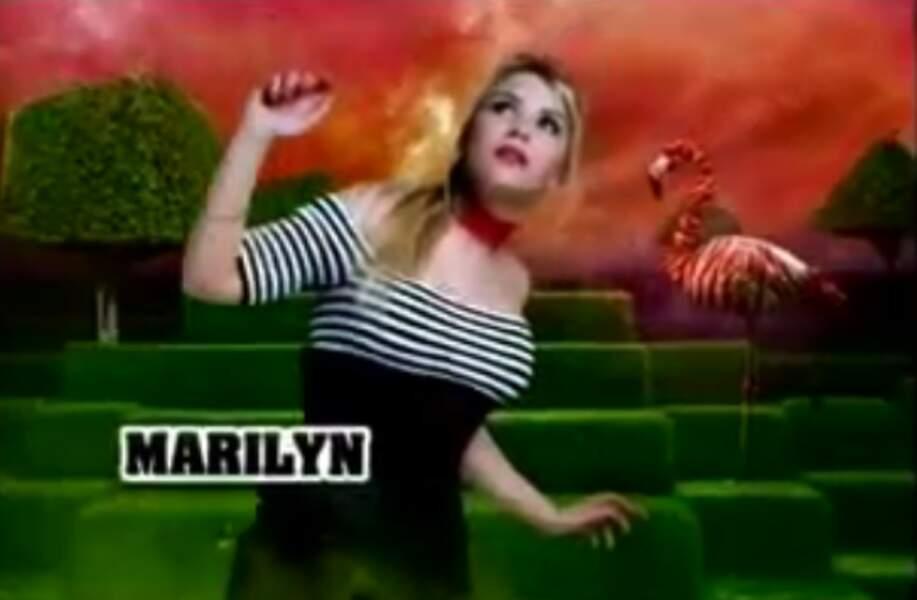 """Marilyn  (Saison 2). Son secret : """"Je suis médium"""""""