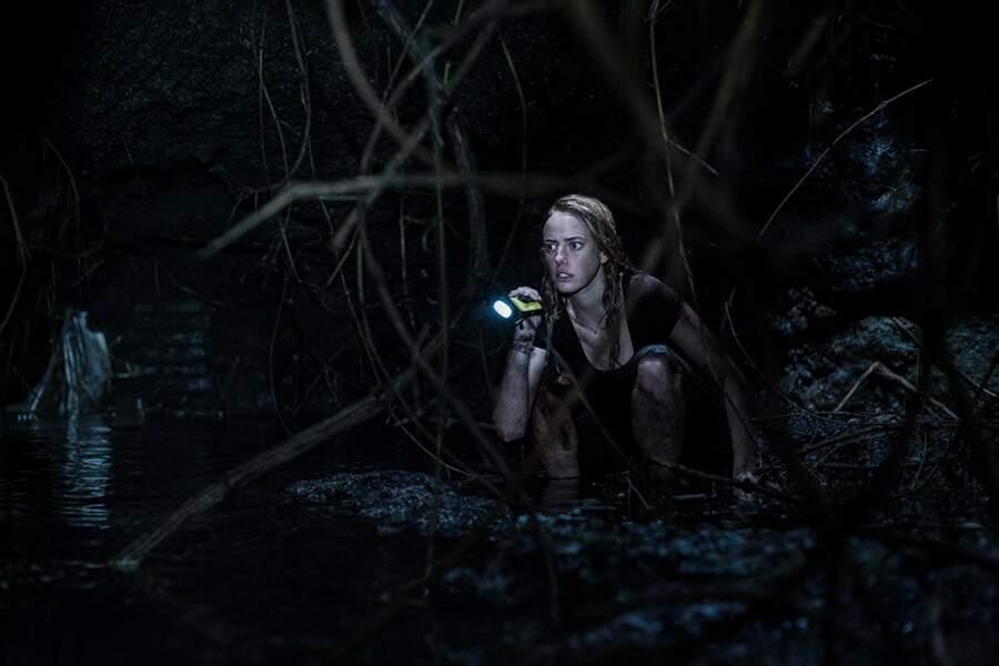 Dans Crawl, Kaya Scodelario est aux prises avec des alligators...