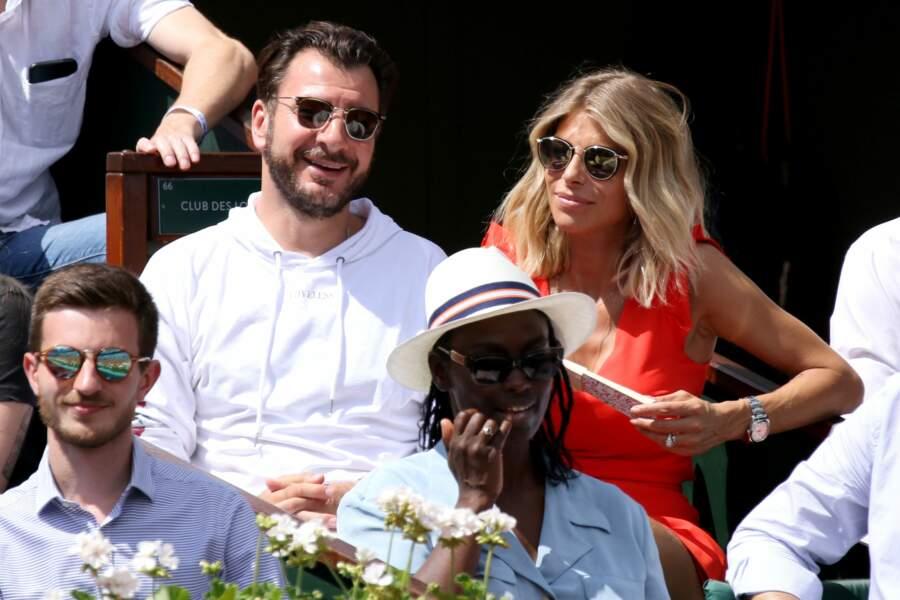 Michaël Youn et sa petite amie ont pris place derrière Aïssa Maïga