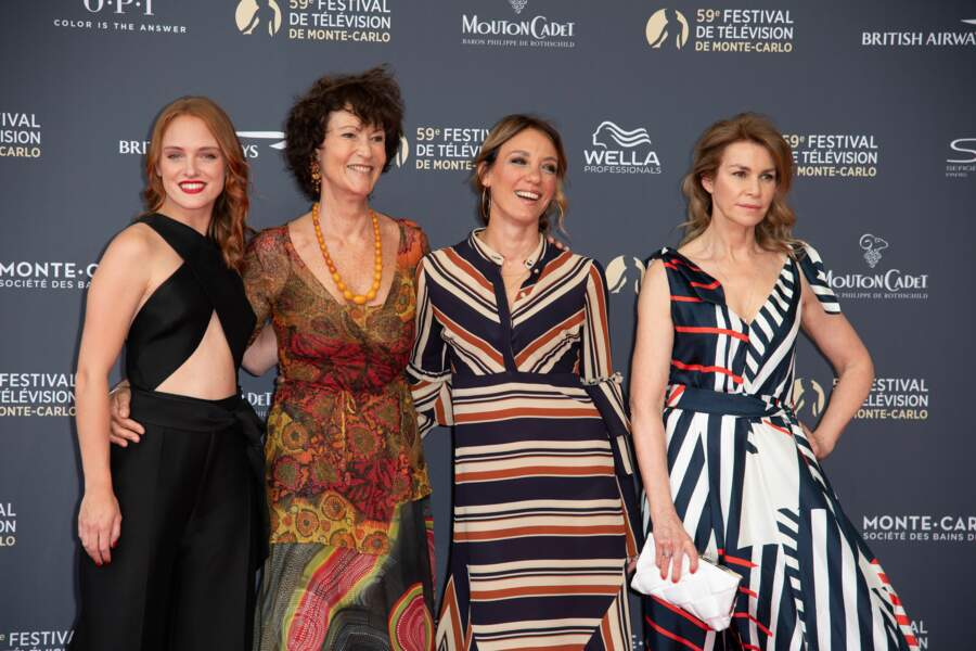 Melanie Robert, Chrystelle Labaude, Emma Colberti et Valerie Kaprisky : les 4 mousquetaires d'Un si grand soleil