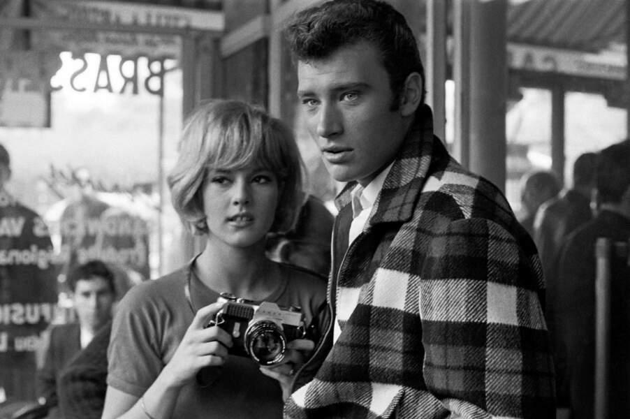 Johnny Hallyday et Sylvie Vartan se rencontrent en 1961