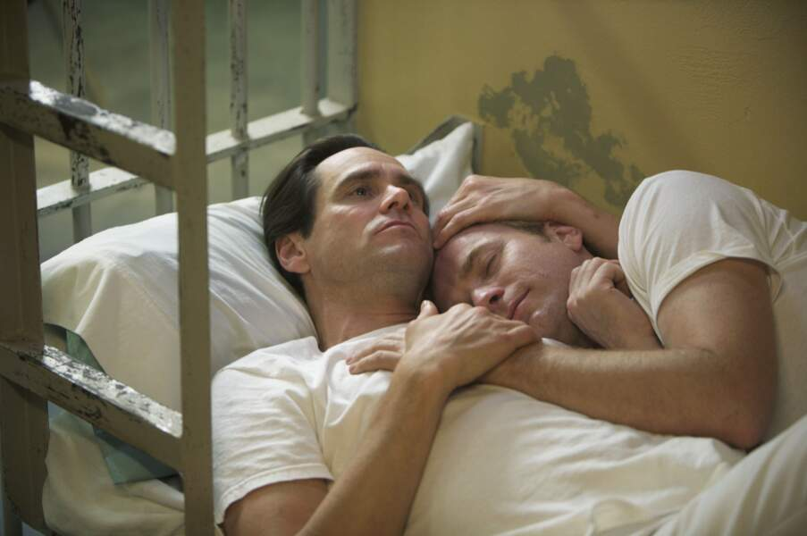 Jim Carrey et Ewan McGregor, un couple derrière les barreaux dans I love You Phillip Morris (2009)