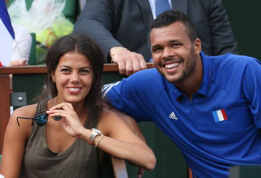 Jo-Wilfried Tsonga et la belle Noura : une bonne raison d'aimer la Suisse pour le joueur