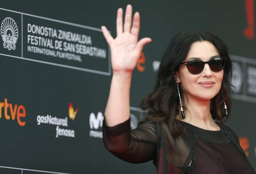 Monica Bellucci, vedette de On the milky way, le nouveau film d'Emir Kusturica