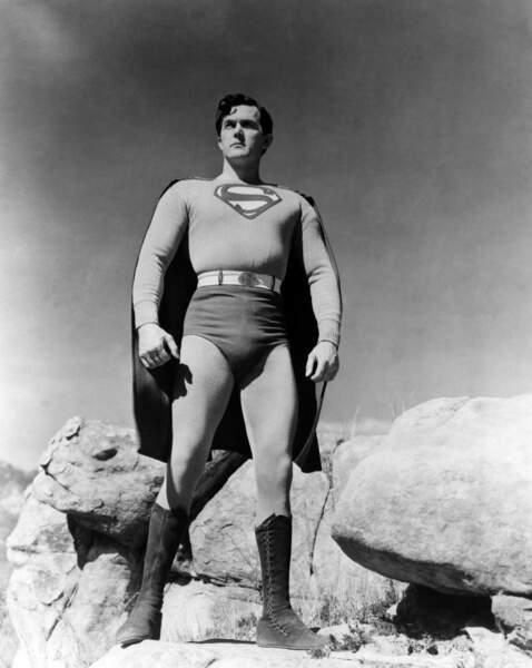 Kirk Alyn prend son air le plus viril et son slip taille haute et devient le premier Superman de la télé (1948)