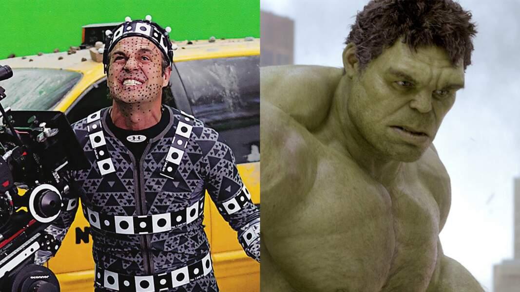 Mark Ruffalo devient Hulk sur le tournage d'Avengers (2012) de Joss Whedon
