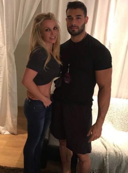 Et que dire de Britney Spears et Sam Asghari, réunis en Belgique avec son show !