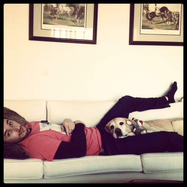 Cette semaine, Matt Dallas (Kyle XY) nous a présenté son nouveau boyfriend (Non, ce n'est pas le toutou)