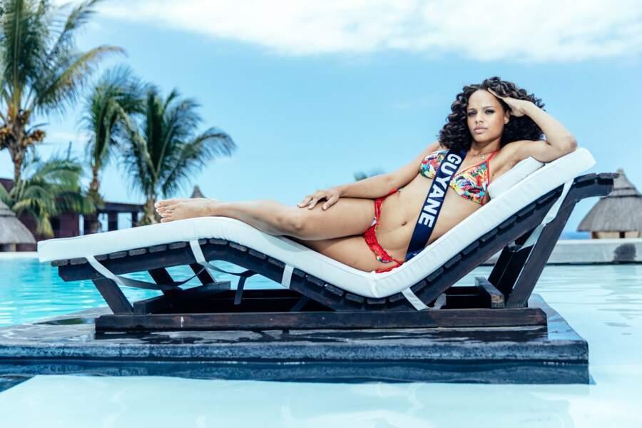 Miss Guyane, Alicia Aylies est très (très) photogénique !