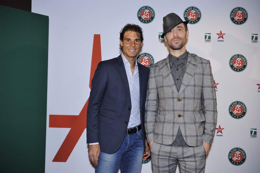 Rafael Nadal, like a hobo