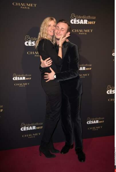 Sandrine Kiberlain et le jeune talent Kacey Mottet Klein (Quand on a 17 ans)