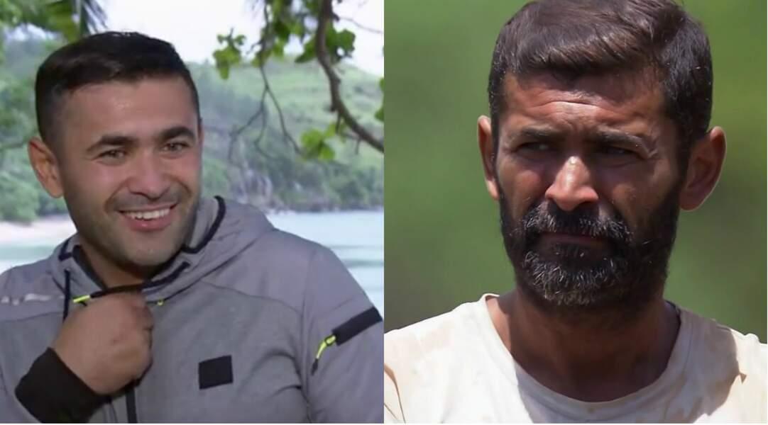 Sa barbe a bien poussé... Mohamed a lui aussi bien fondu : il a perdu 14 kilos