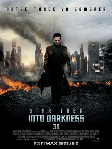 Star Trek Into Darkness version originale...