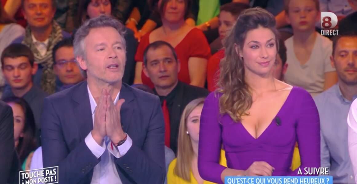 Pas mal aussi, la jolie robe violette de Clio Pajczer