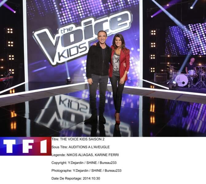 Depuis, la jolie Karine Ferri est devenue une animatrice phare de TF1. Elle co-présente l'émission The Voice...
