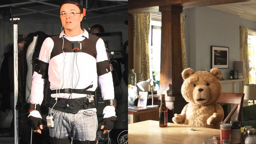 L'acteur et réalisateur de Ted s'est lui-même chargé d'incarner Ted (2012)