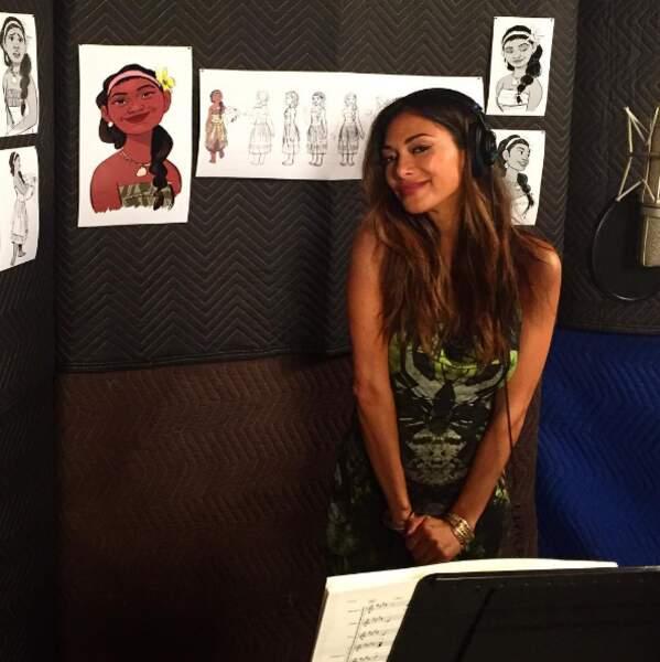 Et Nicole Scherzinger prête sa voix au nouveau Disney, Vaiana !