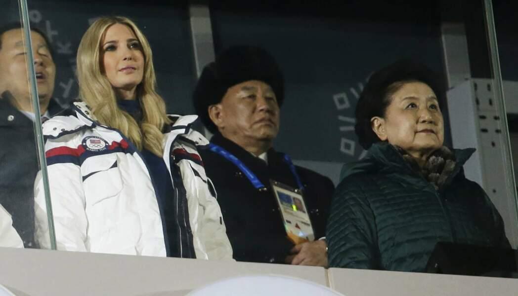 Ivanka Trump aux côtés des dirigeants de la Corée du Nord