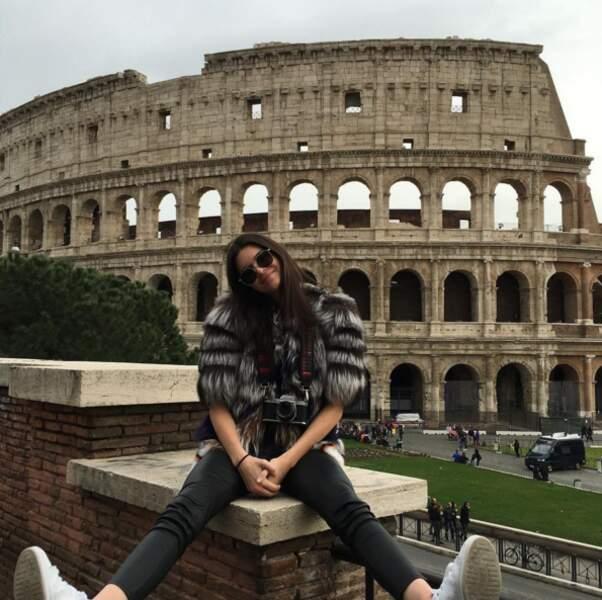 Et hop, petite pose tourisme à Rome pour Kendall Jenner !