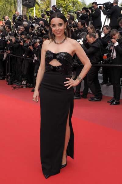 Elodie Bouchez est divine en noir