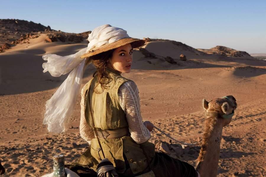 """Deux ans plus tard elle est drôle et envoûtante dans """"Les aventures extraordinaires d'Adèle Blanc-Sec"""""""