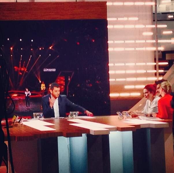 Succès oblige, Amir et Manon de l'équipe de Jenifer étaient les invités de La Nouvelle Edition de Canal+ vendredi