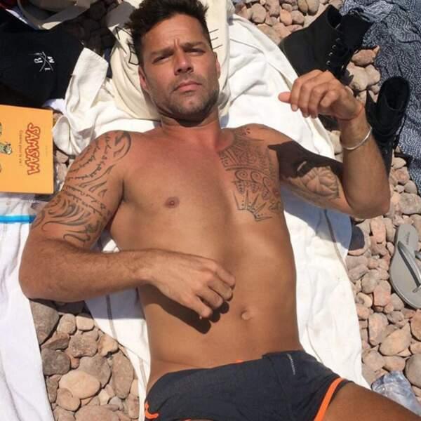 Ricky Martin à Théoule-sur-Mer.