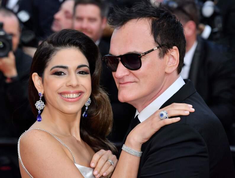 Quentin Tarantino très amoureux de sa femme
