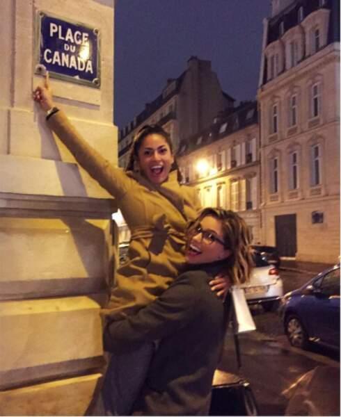 En voyage à Paris !