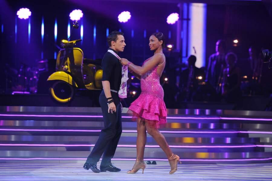 Malgré son joli jeu de jambes, Laura Flessel est éliminée lors de ce troisième prime de Danse avec les stars