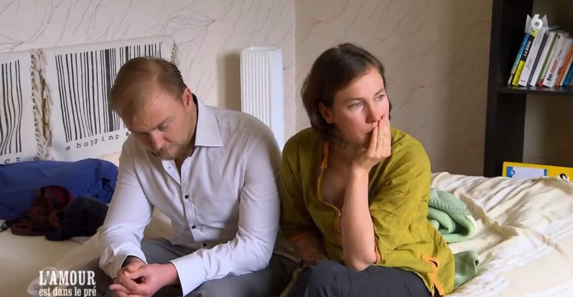 Matin chagrin chez Julien : Louise a décidé de partir car elle déteste la région