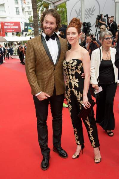T.J. Miller et Kate Gorney, sur le red carpet de Wonderstruck