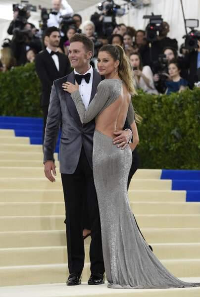 Tom Brady pas peu fier de sa femme, Gisele Bundchen.