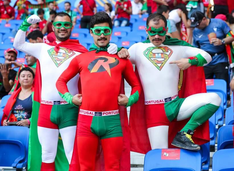 Mais avouons-le, les super-héros portugais étaient de loin les plus inspirés