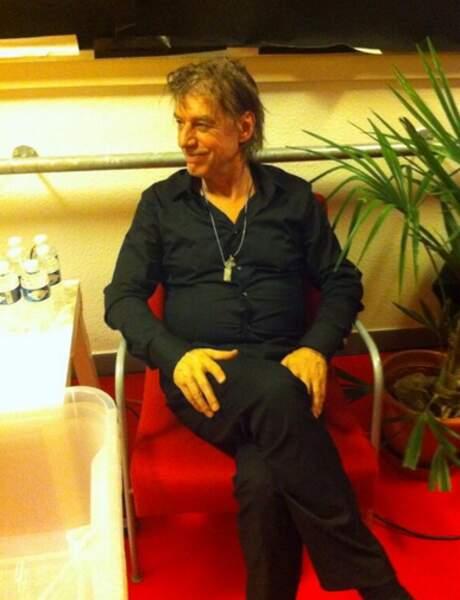 Jean-Louis Aubert dans les coulisses des Enfoirés 2014