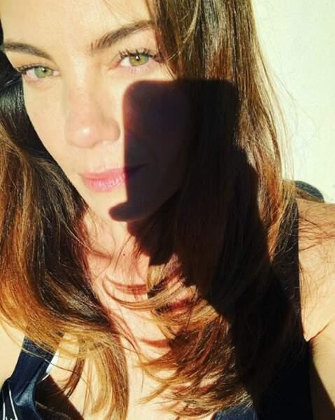 Et essayez de faire ce week-end de plus jolis selfies que celui-ci, signé Michelle Monaghan. Merci.