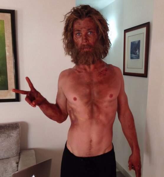 Pour finir, voici la transformation physique impressionnante de Chris Hemsworth pour son dernier film. Outch.