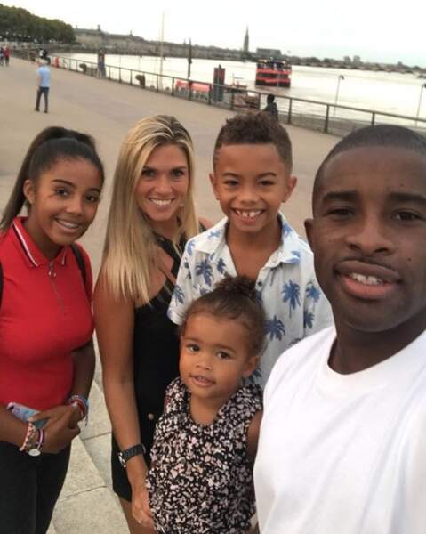 Et Rio Mavuba a profité de sa petite famille dans le sud de la France.