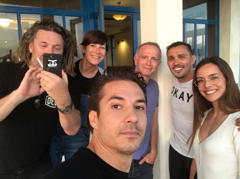 Jérémy Ferrari avec Olivier Delacroix, Marine Lorphelin, Samuel Etienne, Virginie Hocq et Brahim Asloum
